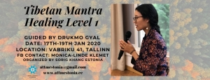 TIIBETI MANTRARAVI 1/TIBETAN MANTRA HEALING LEVEL 1
